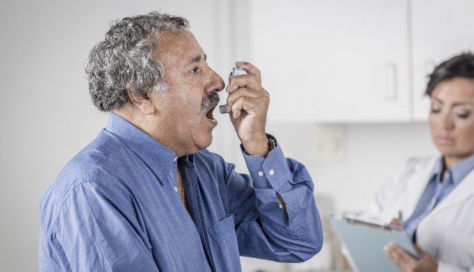 Despite greater use of LABAs and ICS, and adherence to therapy, elderly patients with asthma had poorer asthma control.