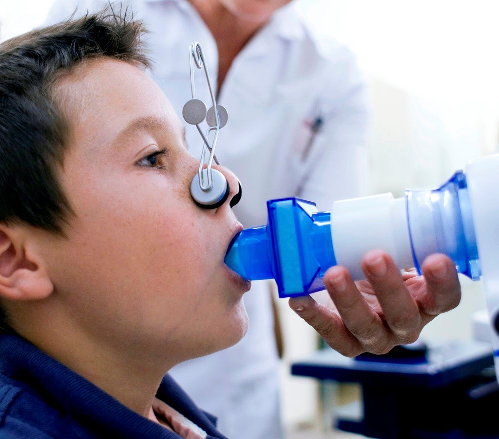 Children between the age of 13 and 16 were evaluated for asthma using the new National Institute for Health and Care Excellence diagnostic tool.