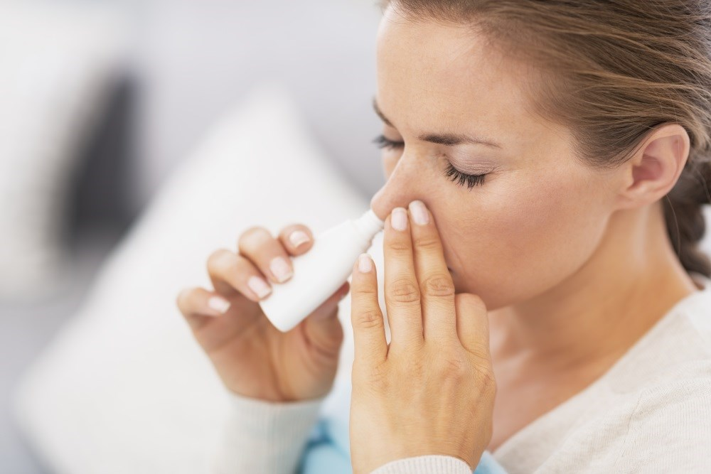 Intranasal corticosteroid treatment confirmed for nasal congestion with seasonal allergic rhinitis