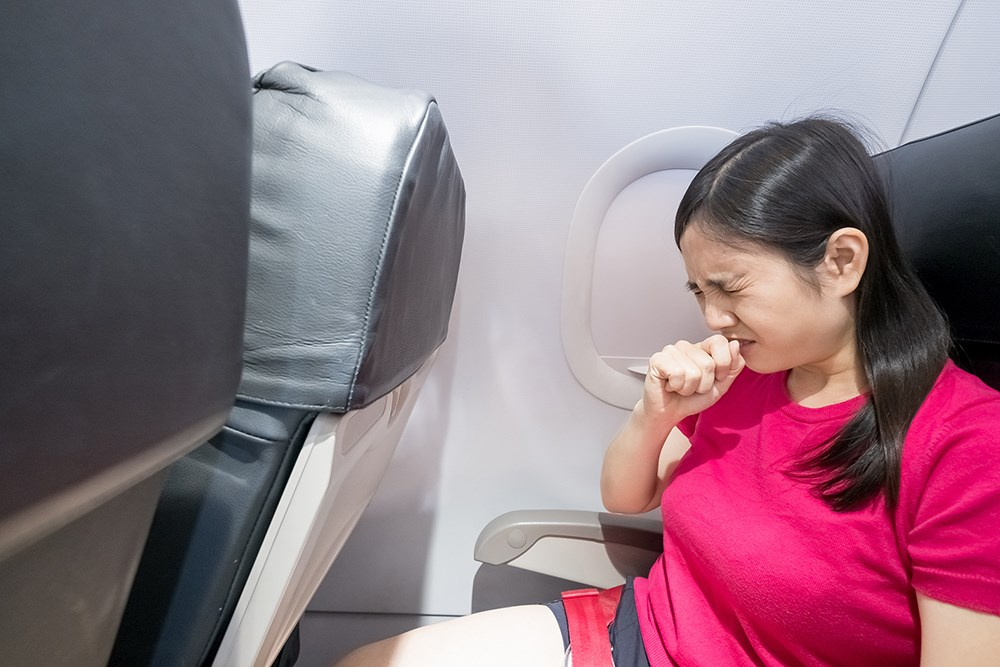 Influenza, Other Respiratory Disease Transmission During Flights