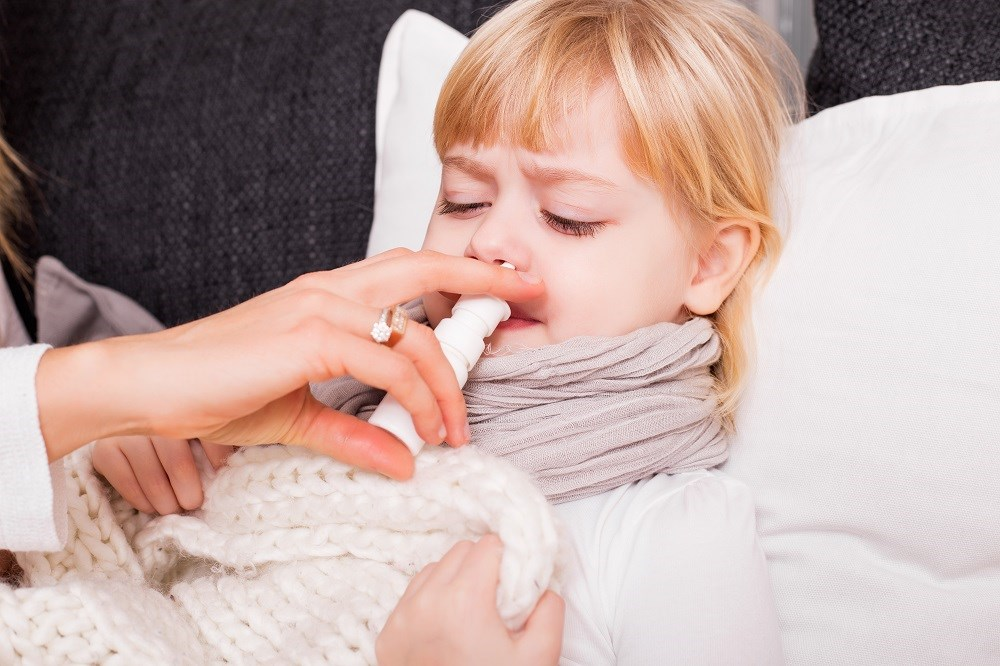 Beclomethasone Dipropionate vs Cetirizine in Children With Perennial Allergic Rhinitis