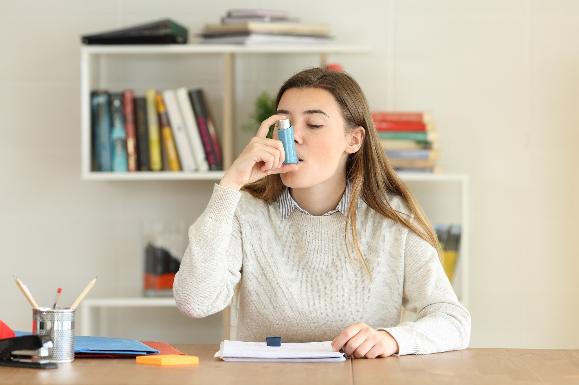 Lung Function Improved With Dupilumab in Adolescents With Asthma