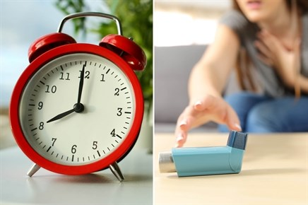 Telling Time by Asthma, Allergy Symptom Severity