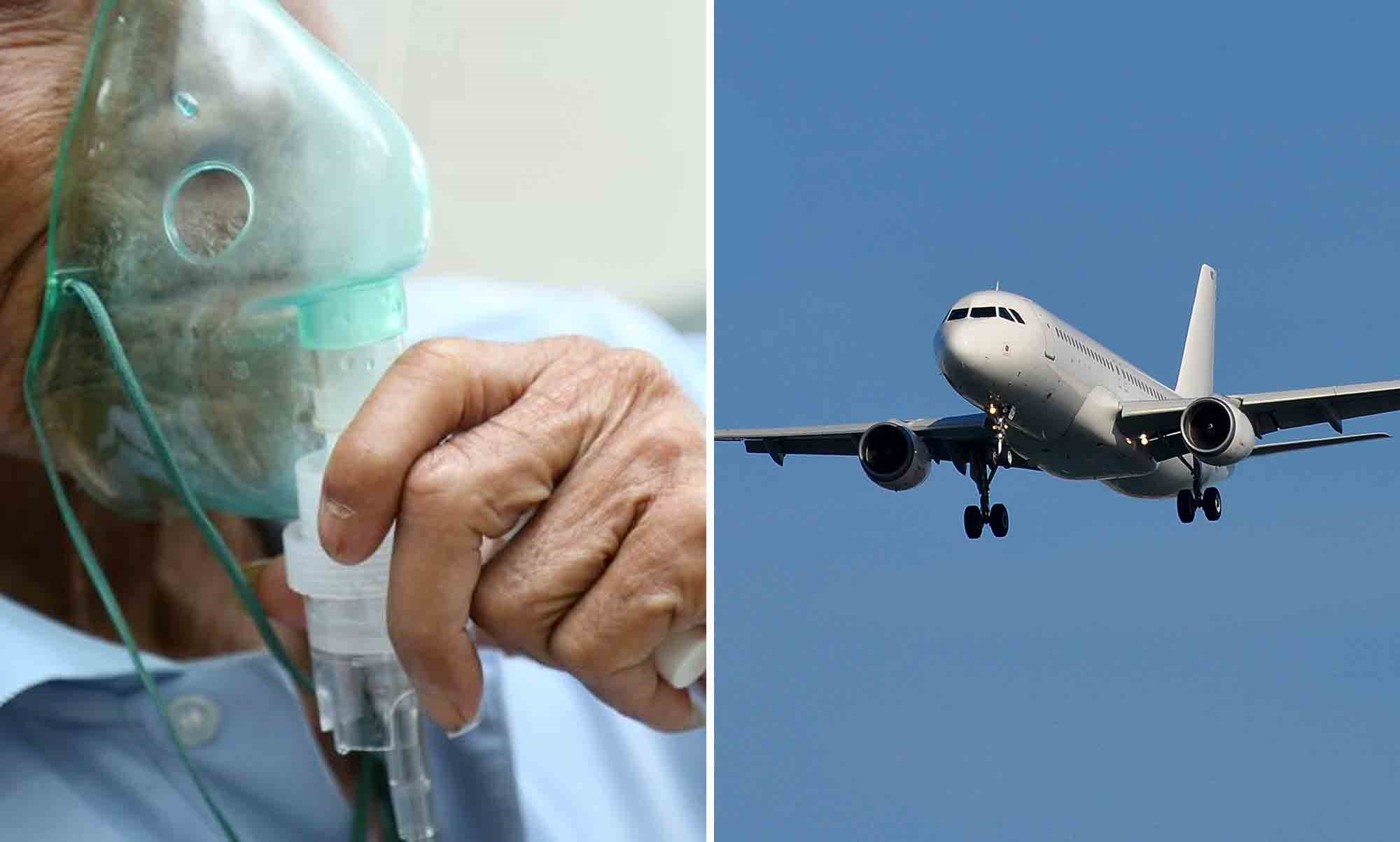 An estimated 12% of in-flight emergencies are attributed to respiratory illnesses.
