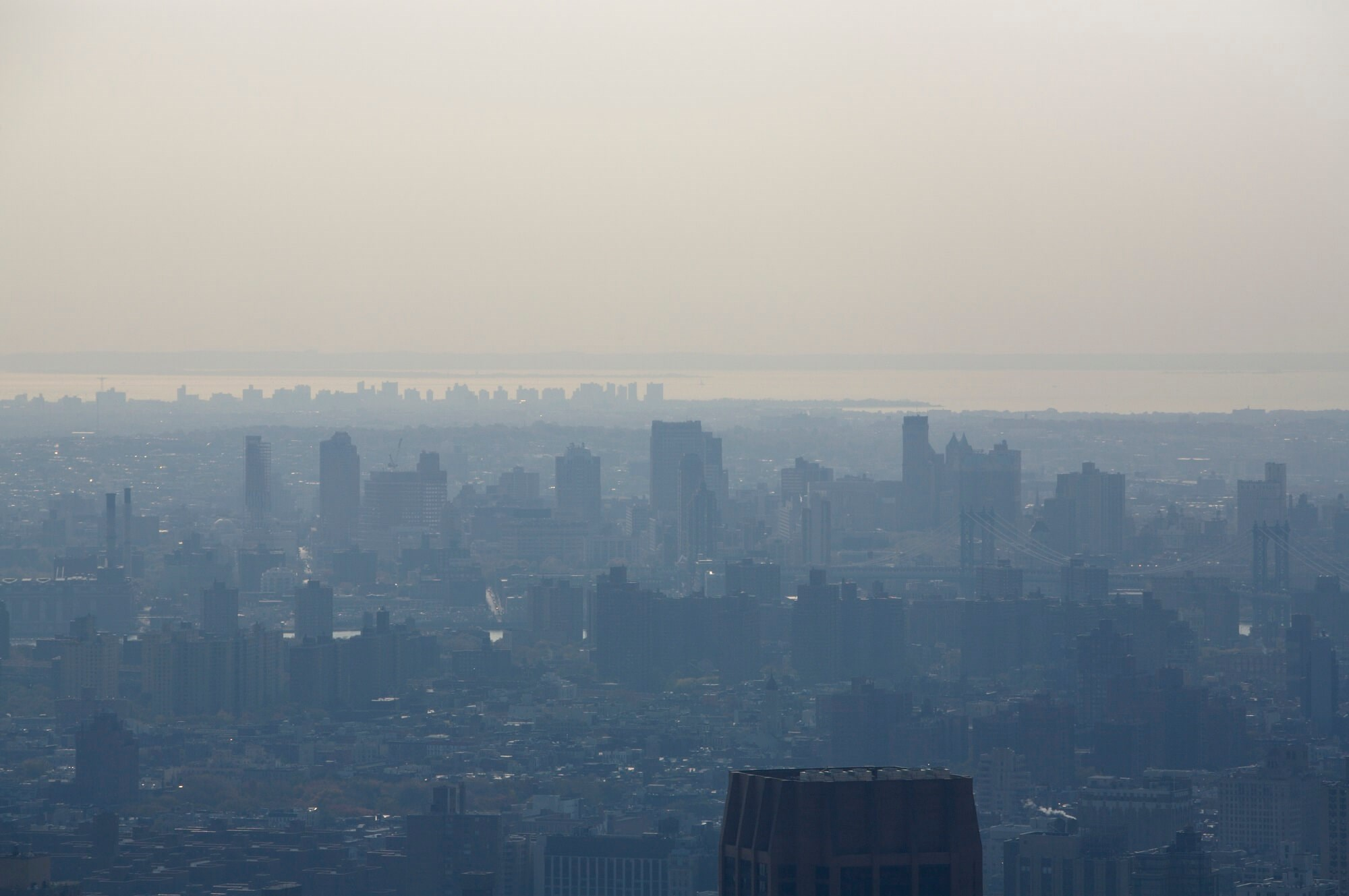 Records of respiratory infection hospital admissions and ED visits were obtained for adult New York State residents who lived within 15 miles of 6 urban air-monitoring stations.