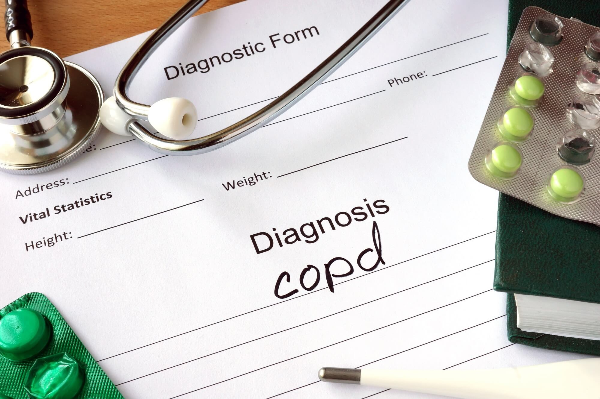 COPD False Positive Diagnosis Found in the Majority of Study Cases